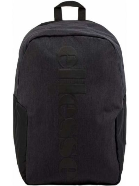 Czarny plecak na laptopa z nylonu Ellesse