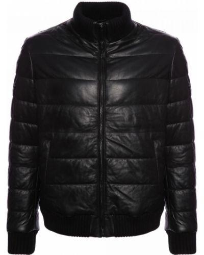 Черная итальянская куртка Principe Di Bologna