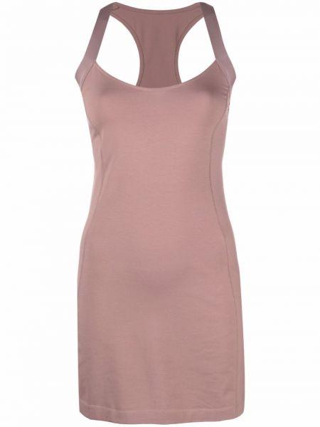 Хлопковое платье с V-образным вырезом без рукавов Diesel