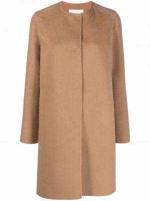 Коричневое пальто длинное Manzoni 24