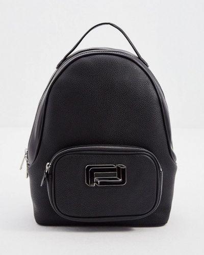 Черный рюкзак из натуральной кожи Lancel