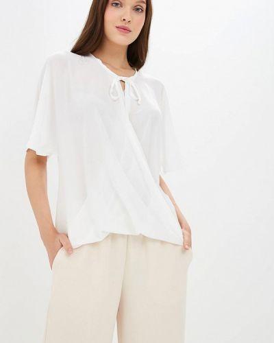 Блузка с бантом белая Piazza Italia