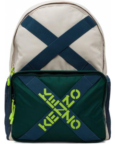 Plecak skórzany - czarny Kenzo