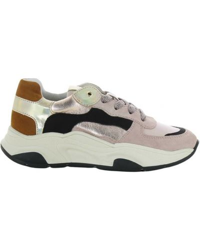 Beżowe sneakersy Kipling