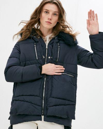 Утепленная синяя куртка Z-design