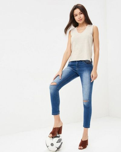 Голубые джинсы-скинни Ovs