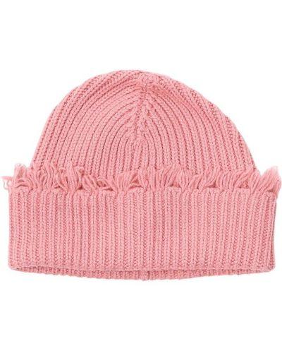 Różowa czapka Alanui