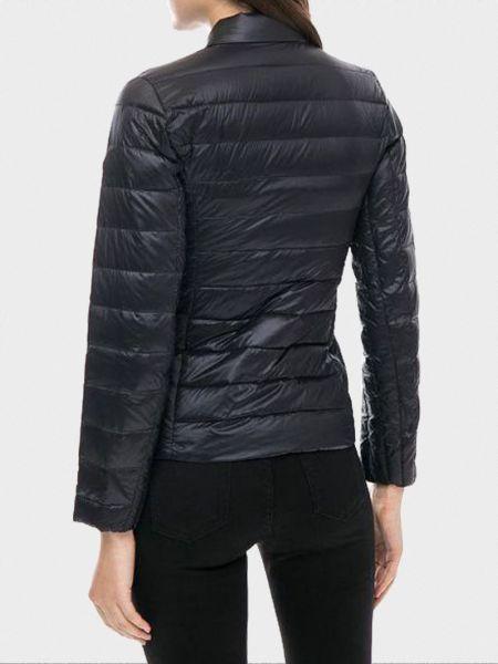 Черная куртка с капюшоном на молнии Armani Exchange