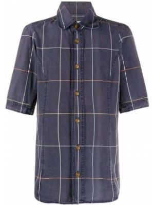 Классическая рубашка с короткими рукавами на пуговицах Vivienne Westwood Pre-owned