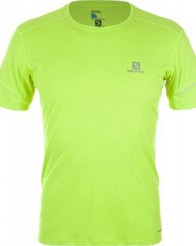 Спортивная футболка из полиэстера для бега Salomon