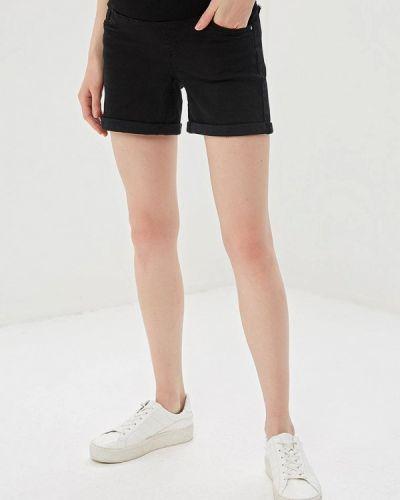 Черные джинсовые шорты для беременных со стразами Dorothy Perkins Maternity