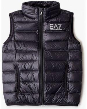Черная куртка Ea7