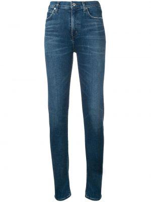 Зауженные джинсы - синие Citizens Of Humanity
