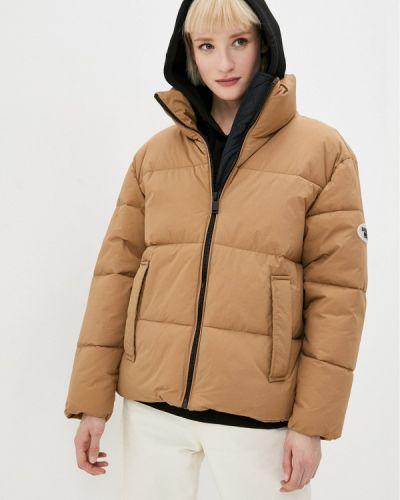 Бежевая утепленная куртка Ostin