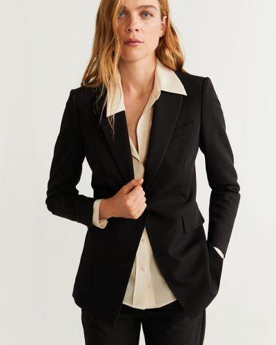 Пиджак черный с подкладкой Mango