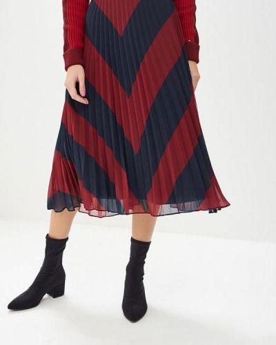 Плиссированная юбка осенняя Tommy Hilfiger