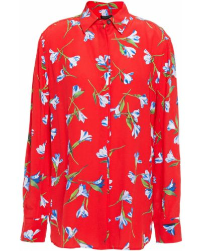 Koszula z wiskozy zapinane na guziki z printem Rag & Bone
