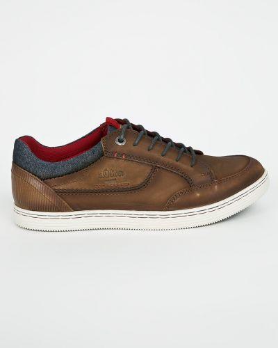 Кроссовки на шнуровке текстильные S.oliver
