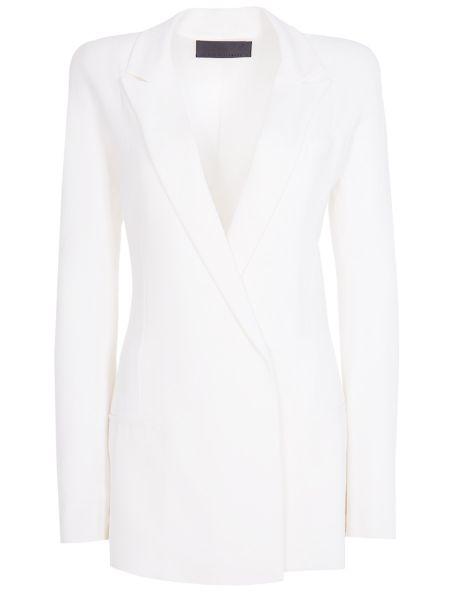 Классический пиджак шерстяной белый Haider Ackermann