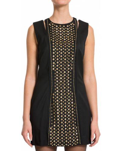 Шерстяное платье - черное Balmain