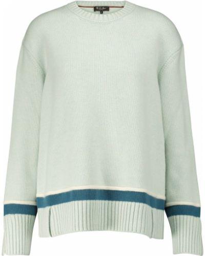 Зеленый кашемировый свитер Loro Piana