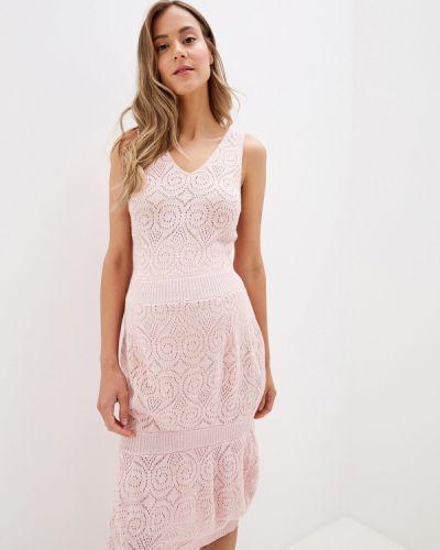Платье розовое прямое Olesya Zubova