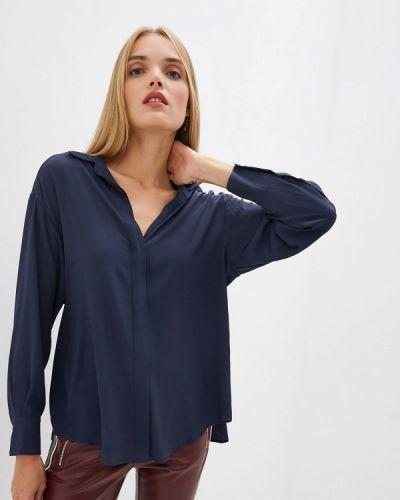 Блузка с длинным рукавом синяя Sportmax Code