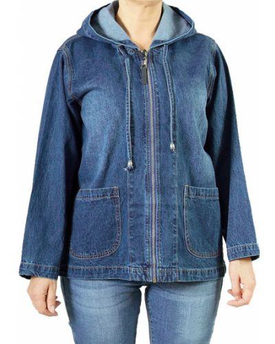 Джинсовая куртка с капюшоном Lacywear