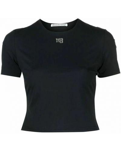 T-shirt - czarna Alexander Wang