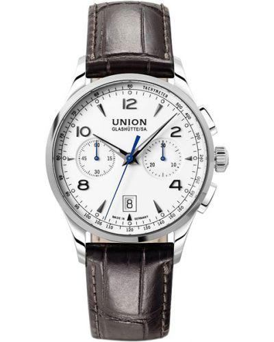 Часы механические водонепроницаемые с подсветкой Union Glashütte/sa.