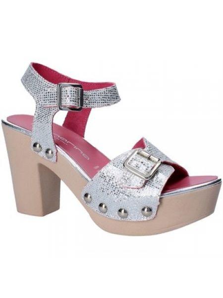 Szare sandały Fornarina
