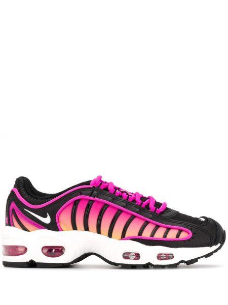 Nylon ażurowy różowy top zasznurować Nike