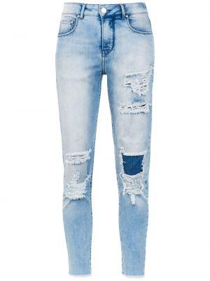 Синие укороченные джинсы Amapô
