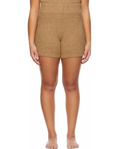 Нейлоновые шорты - коричневые Skims