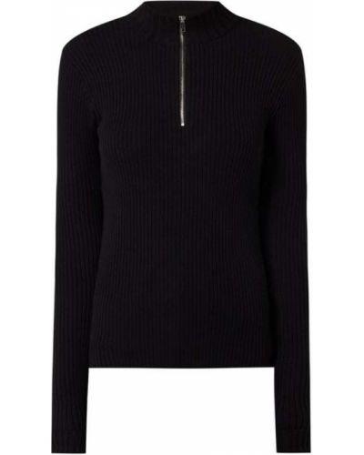 Czarna bluza bawełniana Edited