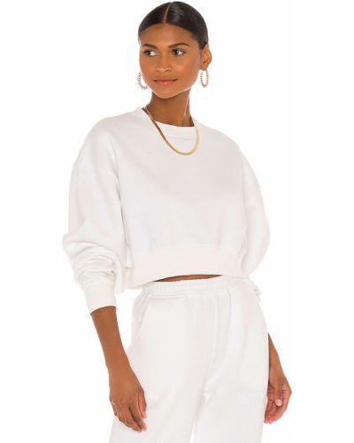 Bawełna biały runo bluza Atoir