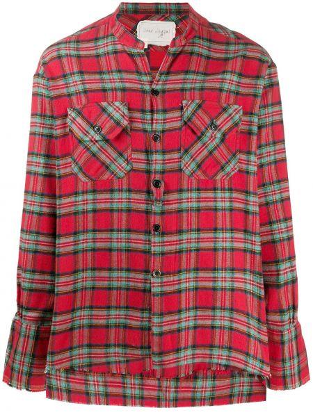 Klasyczna klasyczna koszula bawełniana z długimi rękawami Greg Lauren