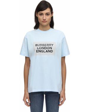 Футболка оверсайз футбольный Burberry