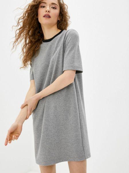 Платье серое футболка Concept Club