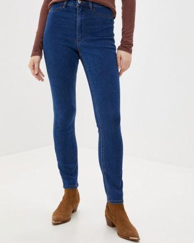 Синие джинсы-скинни узкого кроя Tezenis