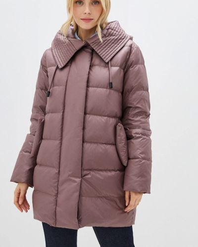 Зимняя куртка осенняя розовая La Reine Blanche