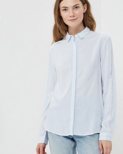Голубая блузка Zarina