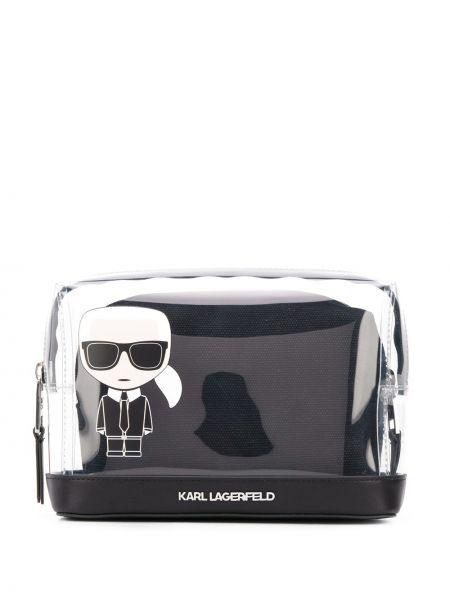 Черная косметичка Karl Lagerfeld