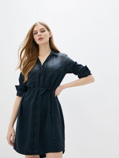 Джинсовое платье синее весеннее Marc O`polo