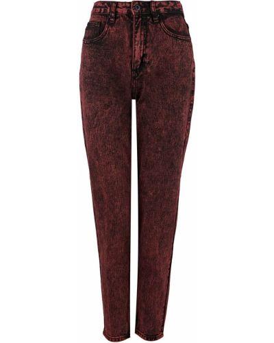 Зауженные красные джинсы с высокой посадкой Befree