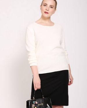 Пуловер акриловый белый Rabe Collection