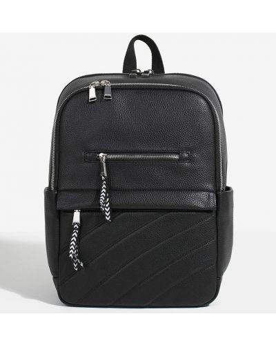 Кожаный рюкзак черный Parfois