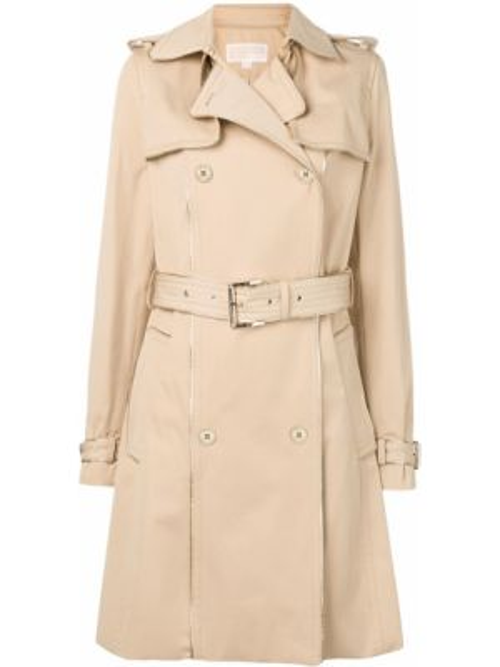 Расклешенное пальто с поясом Michael Michael Kors