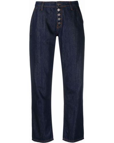 Синие брюки на пуговицах Alessia Santi