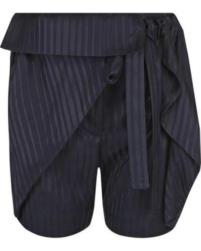 Короткие шорты свободные с оборками Stella Mccartney